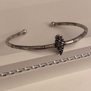 Lucky Brand Jewelry - Lucky Brand | Silver & Black Bracelet